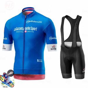 2020 Rose Girode Italia Tour De Italie Cyclisme Jersey Summer Set vélo Vêtements VTT Route Ropa Ciclismo vélo Maillot Cuissard