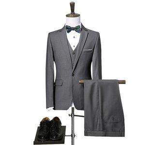Spring Men Leisure Suit Korean-style Slim Fit Small Suit Coat Men's Thin Then West Fashion Handsome Single West MEN'S Top