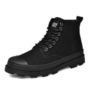 Мужчины Оригинальные сапоги из кожи Повседневный British Design Non Real Leather листок бумаги с поправками к патенту, прикрепленный к патентному описанию ботильоны мужской моды теплый снег обувь