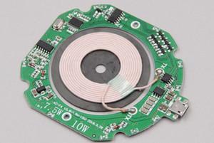 Charging5w inalámbrico 7,5 W 10w Personalizado OEM módulo de servicio PCBA PCBA QI móvil inalámbrico cargador de PCB