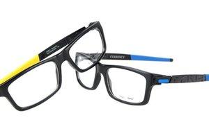 la calidad de los hombres del diseñador marca de moda las gafas de marcos de óptica gafas deportivas marco superior al por mayor superior 8026 en el caso de la caja