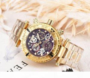 INVICTA mens watches hot sales Brazil US brand gold watches stainless steel invicta waterproof designer watch