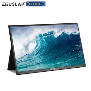 onitors Aksesuarları LCD Monitörler Kulaklık portu Metal ultra taşınabilir ile 15.6inch USB C HDMI 1920 * 1080p PD HDR Monitor ZEUSLAP ...