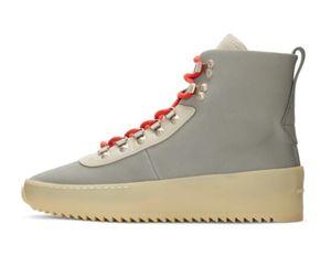 2018 новый дизайнер обувь лучшее качество Слоновой Кости страх Бога мужская роскошный дизайнер sneakersWomen мода обувь Мартин сапоги 39-46