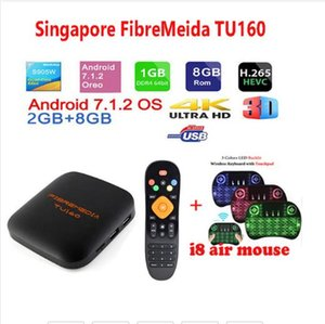 Singapore Fibremedia TU160 TV box sta hub l1ve+lifetime V0DTV 2g 8g singapore cable tv