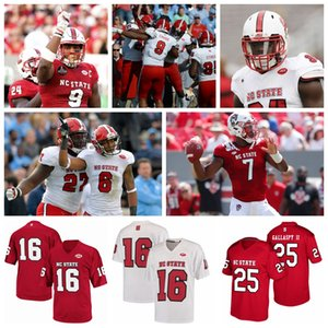 NC State Wolfpack maglie Nicholas Treco Jersey Cary Angeline Dylan Parham Quinn York di Grant Gibson College Football pullover su ordinazione cucito