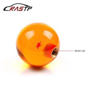 Manopola pomello cambio RASTP Dragonball Z Sfera drago 1 stella Pomello cambio ambrato auto con dado a vite RS-SFN042
