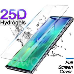 Протектор экрана мягкого гидрогеля для Galaxy S21 Ультра Полный охват Защитник экрана для Samsung S20 Ультра S10E S10 Plus Note10 Plus TPU фильма