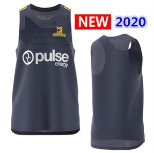 Hot ventes 2020 Highlanders Primeblue Super Rugby Jersey Nouvelle-Zélande Accueil Rugby Maillots chemise Highlander Performance Singlet Rugby Jersey