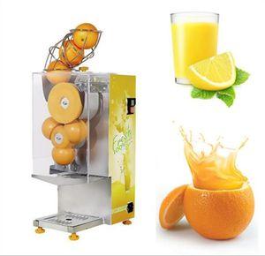 Электрический автоматический апельсиновый сок обрабатывая делая соковыжималку лимона машины