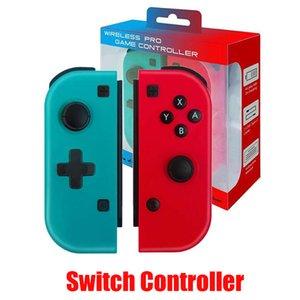 Sem fio Bluetooth Pro Controle Remoto Gamepad Para Mudar Joystick Joypad Handle Joy-Con direito e punho direito Console
