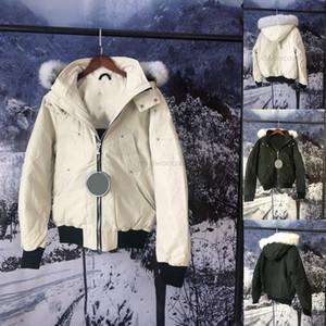 rivestimento di modo inverno parka Homme giacca designer Cappotti Big pelliccia con cappuccio Fourrure Manteau Canada giù ricoprono giù