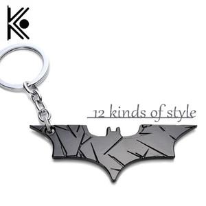 12 style DC bijoux Superhero Batman Porte-clés Batman décapsuleur pendentif Superman porte-clés Bande Dessinée Figure Accessoires Porte-clés