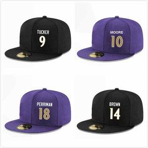 Protezioni su ordinazione di baseball di Snapback Hats Brandon Carr Robert Griffin III Michael Floyd Sean Modster Marquise Brown Jaylen Smith Mark Ingram II