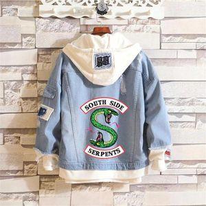 Riverdale demin jacket riverdale cool fashion new stylish
