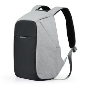 Mixi Unisex Sırt Çantası Erkek Kadın Okul Çantası Erkek Kız Satchel 15.6 Laptop Sırt Çantası Usb Şarj 2019 Eğilim Moda 17 18 Inç M5510 Y19061004