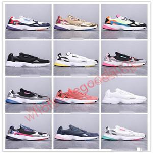 ADIDAS FALCON TRAIL W  ocasionales de las mujeres de lujo de diseño zapatillas de deporte para hombre de Entrenadores Dadday aire libre de los zapatos corrientes unisex Chaussure