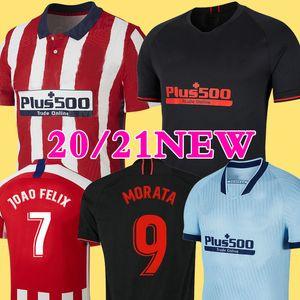 спортивная футболка Мадрида JOAO FELIX Correa Lucas Costa Koke Saul Godin Luis Gimenez 2019 детская футболка