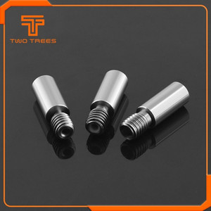 3 Drucken 3D-Drucker-Teile Zubehör 10pcs 3D-Drucker Chimera Extruder Wärmebruch V6 Dual Hotend J-Kopfhalslänge 22mm 1.75mm