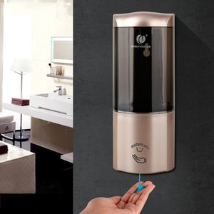 Dispensador de sabão líquido Wall-montado Garrafas automática Soap Dispenser Gel dispensador para Automatic líquido Touchless sabão espuma Atacado