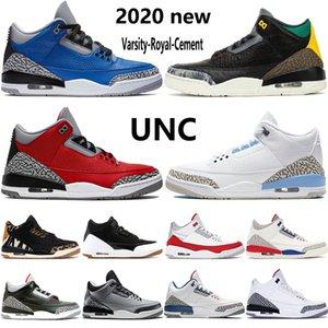 chaussures de basket-ball des hommes Jumpman Varsity animal royal de ciment instinct 2.0 UNC SE Feu rouge Tinker hommes blancs noirs formateurs américains 7-13