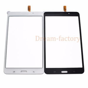 10pcs Touch Screen Digitizer Glass Lens for Samsung Tab 4 7.0 T230 T231 with Adhesive DHL