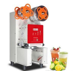 Satılık LLFA İçin Otomatik Bubble Tea Yoğurt Plastik Bardak Kapama Makinesi Ticari Yoğurt Kupası Sealer Makinesi Sızdırmazlık