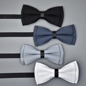 Men Ties Fashion Butterfly Party Wedding Bow Tie for Boys Girls Candy Solid Color Bowknot Wholesale Accessories Bowtie
