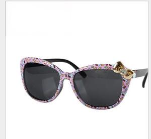 Super cute fashion lady's bowknot travel sunglasses children's Sunglasses