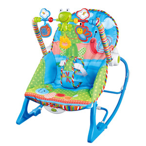 Baby Rocking Chair Musical Electric Swing Chair Vibrant Bouncer Chair Fauteuil Réglable Enfants Berceau Cradle Chaise Accessoires M1613