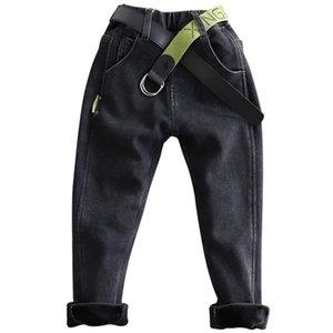 Pantalones de los muchachos calientes de terciopelo pantalones pantalones niños, además de los niños en los chicos adolescentes ropa jeans lápiz
