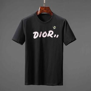 5Pcs Lot DHL ücretsiz gönderim 2019 Yaz Yeni Geliş Üst Kalite Tasarımcı Giyim Erkek Moda Tişörtler Medusa Baskı Tees Boyut M-3XL