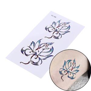 Neue Wasserdichte Temporäre Tätowierung Fox Geometrische Tier Tatto Flash Tatoo Gefälschte Tätowierungen Für Mädchen Frauen Mann Kind