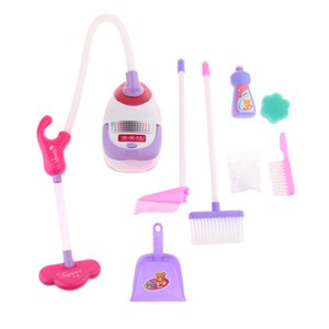 Plastic Pretend Housework Set for Toddlers Age 3 Years & Up - Cleaning Set