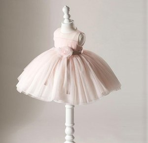 Infant Baby Girl Dress Lace Tulle Baptism Dresses for Girls 1st Year Birthday Beading Flower Girl Party Wedding Baby Clothing
