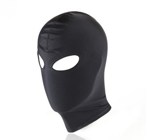 Latex Hood Mask Open Spandex Sexy Mask Game Adult Mouth Fetish Sexy Erotic Toys For Bondage T191116 Women Fetish Head Xrxvw
