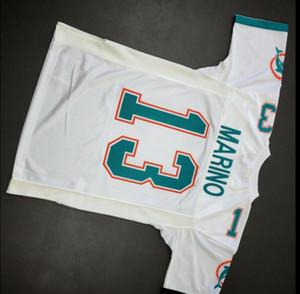 mulheres costume Homens Jovens Dan Marino Mitchell Ness 1990 Football tamanho Jersey s-4XL ou personalizado qualquer nome ou número de camisa