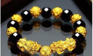 Nuevas pulseras de cristal de dragón de lujo Pulseras de diseñador de oro Pixiu Transfer Beaded Bracelet Jewelry for Gift Time Limited
