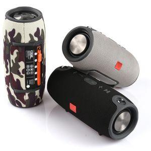 Altavoz Bluetooth caliente pequeña batalla Tambor pesada subwoofer Portable Power Supply Audio impermeable trompa doble Hi-Fi altavoz de la caja
