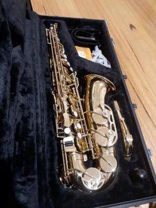 새로운 JUPITER 브랜드 500 시리즈 JAS-500 알토 색소폰의 Eb 색소폰 음악 악기 좋은 조건