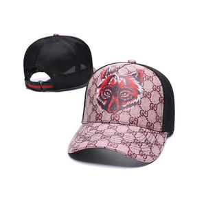 gucci men alta calidad de color de 24 sombreros de diseño del capó tapas de los hombres las mujeres casquillo salto silvestre ins casuales de la moda de la cadera gorra de béisbol