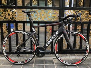 Costelo Speedcoupe gökyüzü rengi 2.0 karbon yol bisikleti çerçeve 2018 Costelo bisiklet bicicleta çerçeve karbon fiber bisiklet çerçeve kümesi