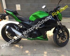 Para Kawasaki Z250 Z 250 Z300 15 16 Z 300 2015 2016 Street Motorcycle Fairing Cowling Cowling Kit verde negro (moldeo por inyección)