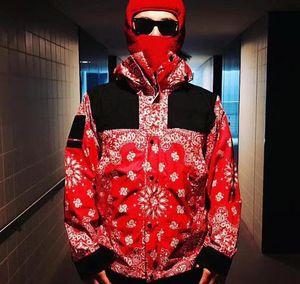 Марка бандана ГОРА PARKA Куртки Мода Мужчины Женщины Пара Верхняя одежда Top Quality Hip Hop High Street Coat North Box Logo