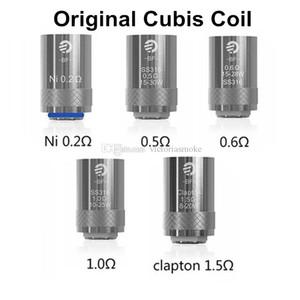원래 CUBIS BF 코일 CUBIS 분무기와 SS (316) 0.5ohm 1.0 옴 0.6ohm 코일 클랩튼 코일 1.5ohm 니켈 0.2ohm CUBIS 코일 자아 AIO 키트