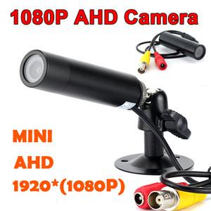 Супер мини Ахд камеры HD 1080p 2-мегапиксельная камера 3МП Старлайт водонепроницаемый микро видеонаблюдения маленькая антивандальный черный металл пуля безопасности Ка