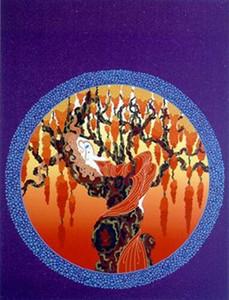 ERTE » - HEAT - RELIEF Home Décor peint à la main HD Imprimer Peinture à l'huile sur toile Wall Art Toile Photos 191102
