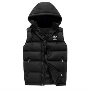 Uomini inverno lusso usura esterna panciotto giù gilet giacche piuma progettista giubbotti cappotto casuale mens giù cappotti