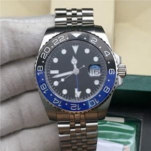 I più nuovi quadranti 7 colori orologi uomo 116710 126710 blu nero lunetta in ceramica automatica GMT movimento orologio da polso limitato Jubilee Master