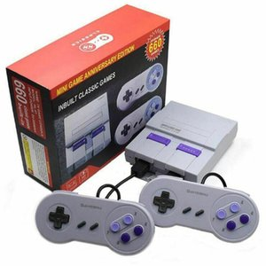 Super Classic SFC TV Handheld Mini Game Consoles 2018 Newest Entertainment System For 660 SFC NES SNES Games Console Drop Shipping